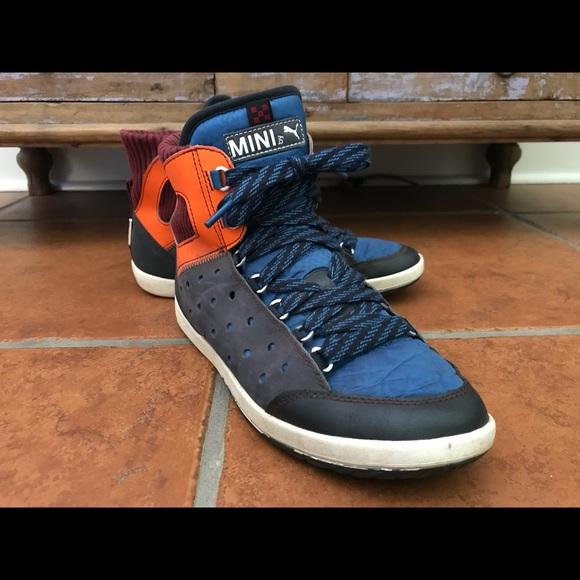 Mini Cooper By Puma Sneakers Size